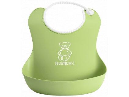 Bryndák BabyBjörn měkký Soft Green