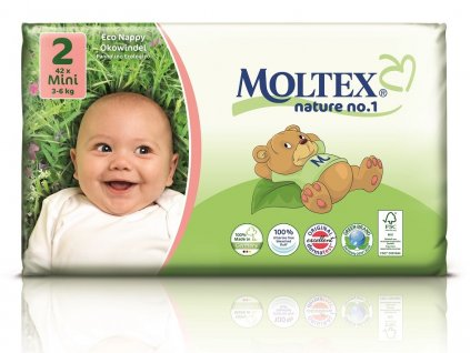 Plenky Moltex nature no.1 Mini 3-6 kg (42 ks)