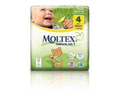 Plenky Moltex nature no.1 Maxi 7-18 kg (30 ks)