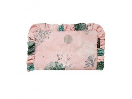 Bambusový polštářek s volánky Rose Garden