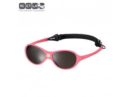 Dětské sluneční brýle KiETLA JokaKi 12 - 30 měsíců Pink