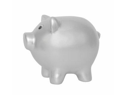g10045 moneybox pig silver