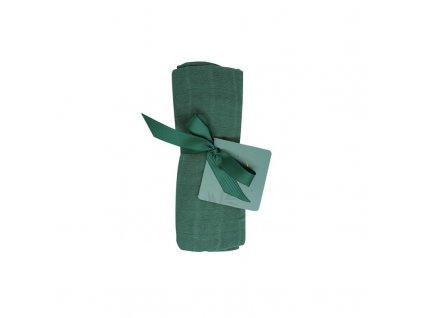 Tommy Lise Bavlněná mušelínová plena Mangrove Green 70x70cm