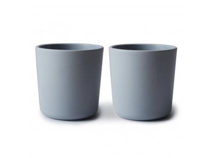 Mushie pohárek 2 ks CLOUDMushie poharik 2 ks cloud