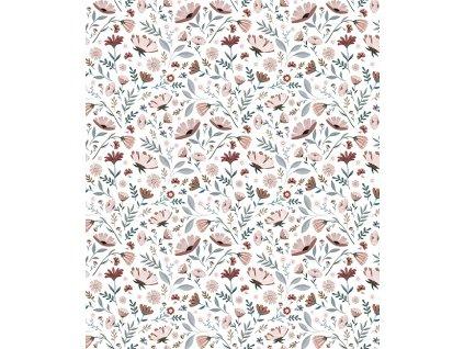h0603 papier peint fleurs liberty ocean lilipinso