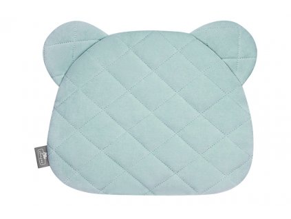 Polštář Sleepee Royal Baby Teddy Bear Pillow Ocean Mint