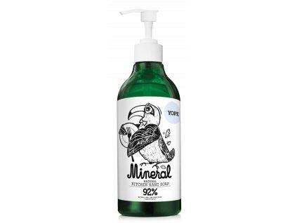 Tekuté kuchyňské mýdlo YOPE minerální