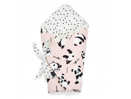 Zavinovačka La Millou #ILOVEPANDA Pink & XOXO