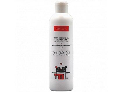 Jemný sprchový gel a šampon 2 v 1 CR