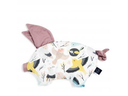 podusia sleepy pig la millou velvet lavender cute birds