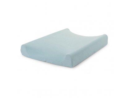Potah na přebalovací podložku CHILDHOME Pastel mint blue 70 x 50 cm
