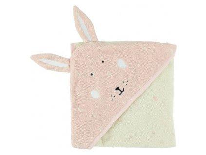 Trixie Dětská osuška s kapucí - Mrs. Rabbit