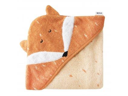 Trixie Dětská osuška s kapucí - Mr. Fox