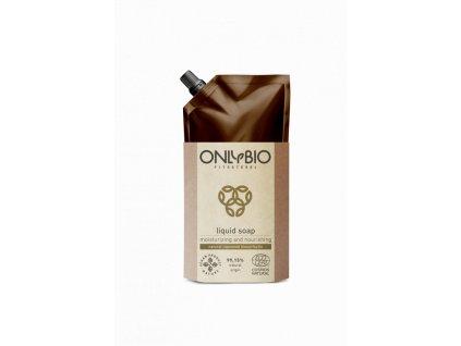 Hydratační a vyživující tekuté mýdlo OnlyBio - náhradní náplň 500 ml