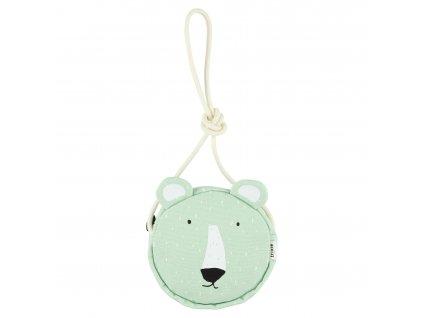 Round purse - Mr. Polar Bear