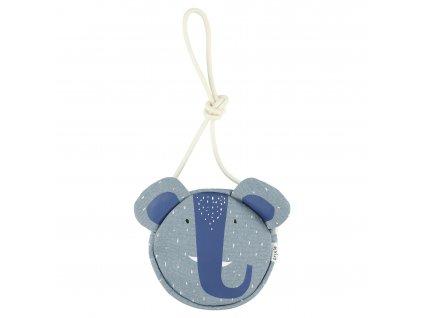 Round purse - Mrs. Elephant