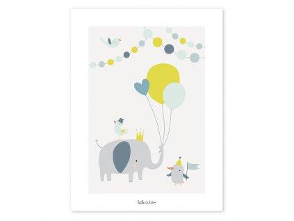 Plakát LILIPINSO Baloons Boy
