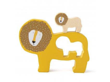 Trixie dřevěné puzzle - Mr. Lion