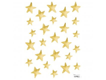 Samolepka LILIPINSO Gold stars