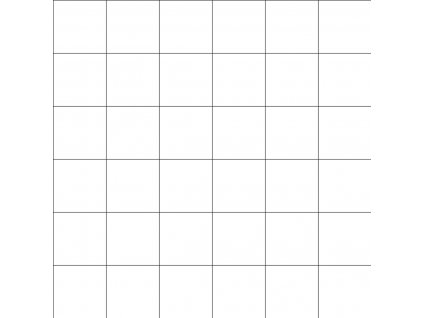 Tapeta LILIPINSO Grid black on white 50 cm x 10 m