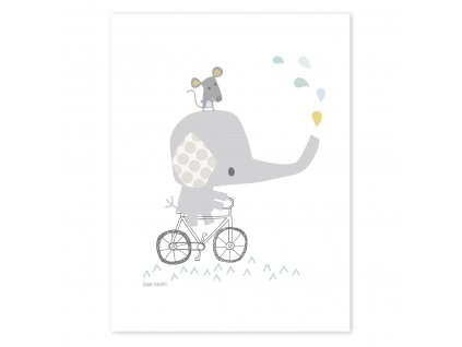 Plakat Lilipinso Elephant