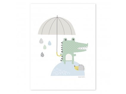 Plakat Lilipinso Crocodile