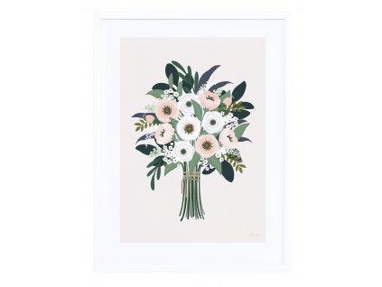 Zarámovaný plakát LILIPINSO Nice bouquet