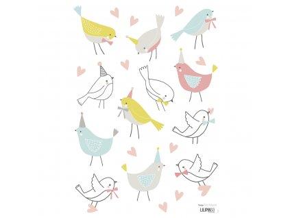 "Samolepka LILIPINSO Sparrows ""A3"""