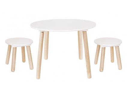 Stolek s židličkami JaBaDaBaDo