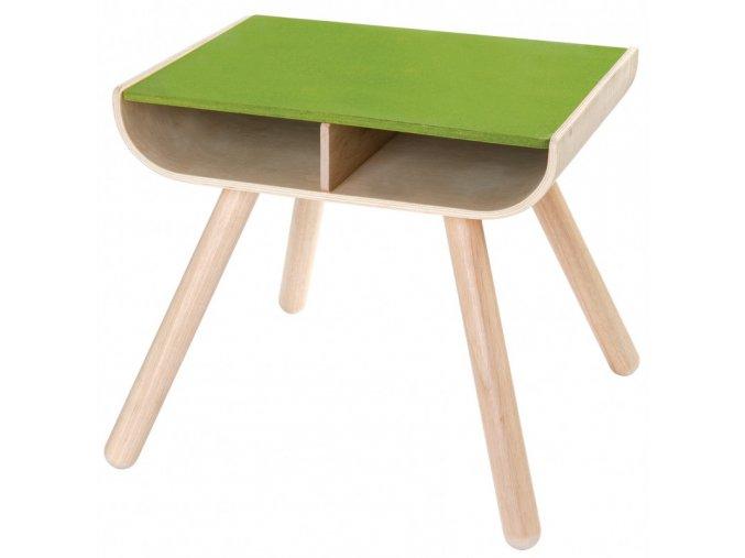 Dětský stolek PLAN TOYS zelený