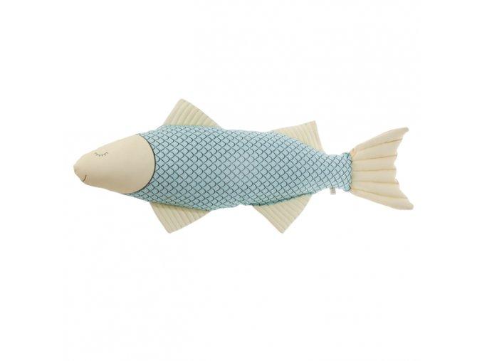 Látková ryba Pani Pieska dlouhá