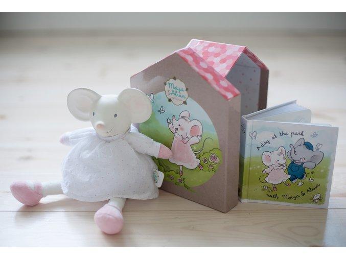Dárkový set DELUXE Meiya & Alwin myška Meiya
