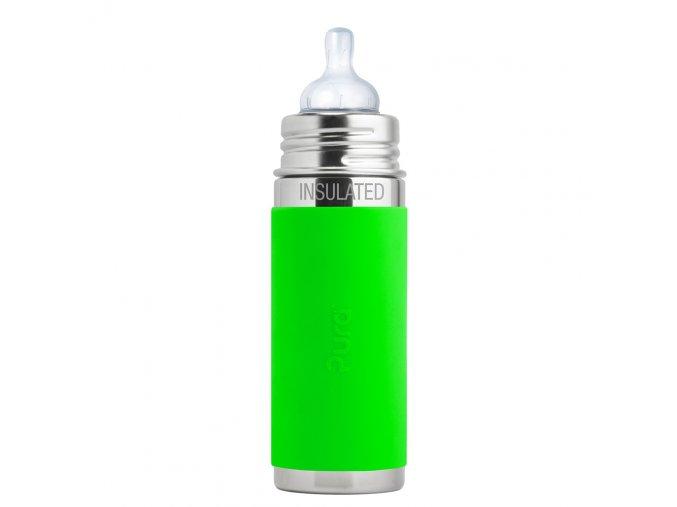Kojenecká TERMO lahev Pura 260 ml zelená