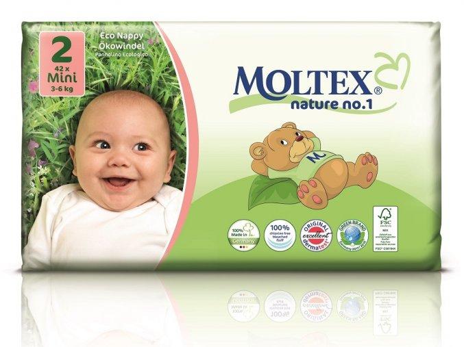 Plenky Moltex nature no.1 Mini 3-6 kg (42 ks)