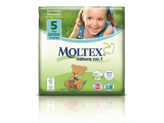 Plenky Moltex nature no.1 Junior 11-25 kg (26 ks)