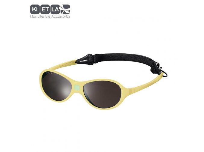 Dětské sluneční brýle KiETLA JokaKi 12 - 30 měsíců Yellow