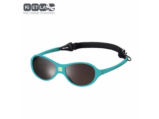 Dětské sluneční brýle KiETLA JokaKi 12 - 30 měsíců Peacock Blue
