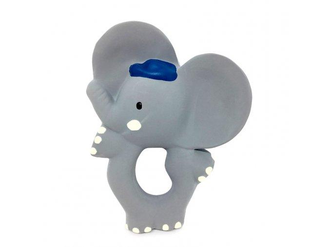 Kousátko ze 100 % kaučuku Meiya & Alvin sloník Alvin