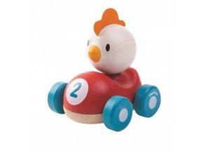 Dřevěná hračka PLAN TOYS kuře