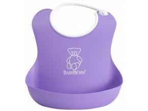 Bryndák BabyBjörn měkký Soft Purple