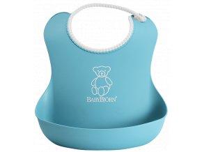 Bryndák BabyBjörn měkký Soft Turquoise