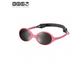 Dětské sluneční brýle KiETLA Diabola 0-18 měsiců tmavě růžové