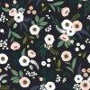 Tapeta LILIPINSO Flowers on dark backround 50 cm x 10 m