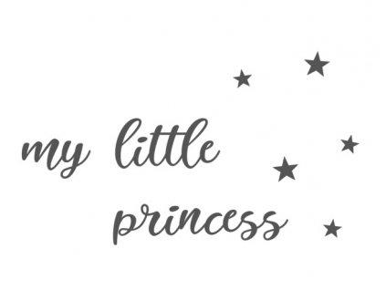 "Samolepka ""my little princess"""