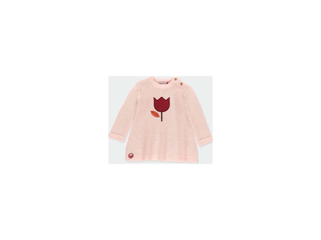 Pletené šaty pro holčičku BOBOLI