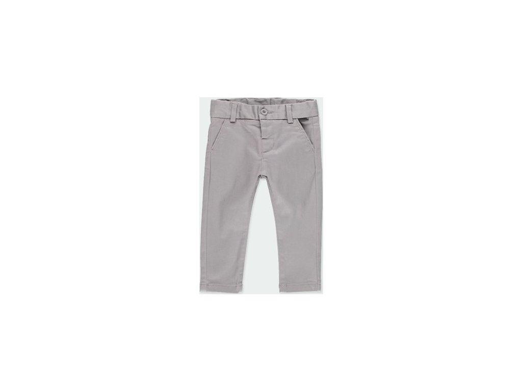 Stretch saténové kalhoty pro chlapečka BOBOLI
