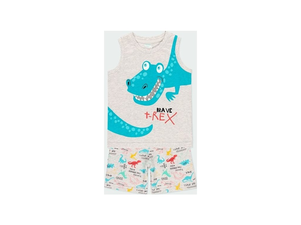 Chlapecké pyžamo s dinosaurem Boboli