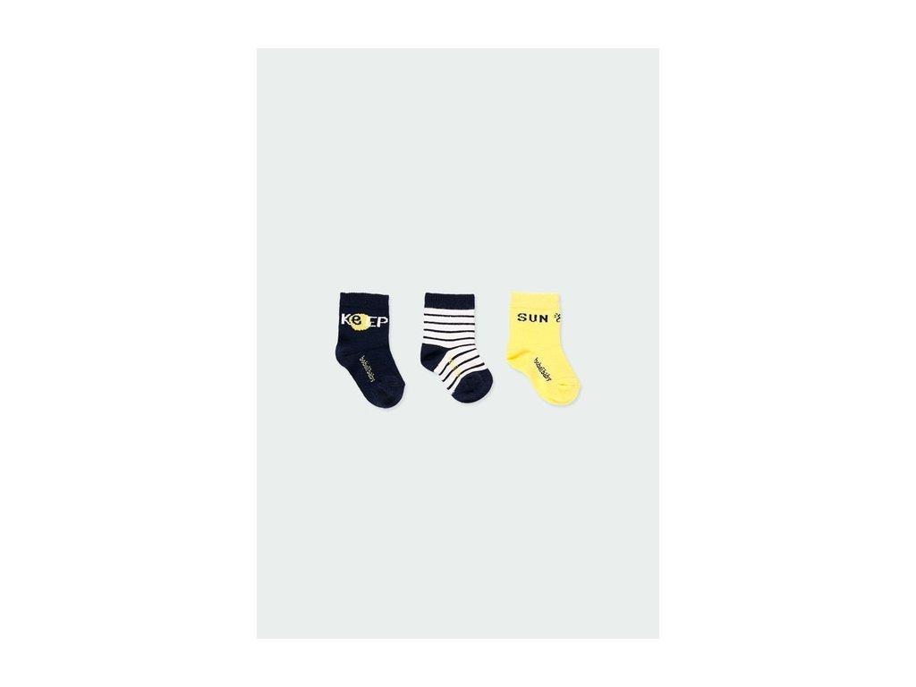 Balení 3 ks ponožek Boboli