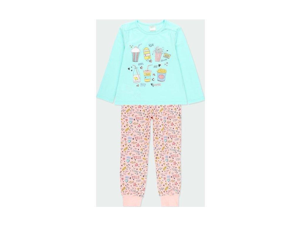 Dívčí barevné pyžamo Boboli