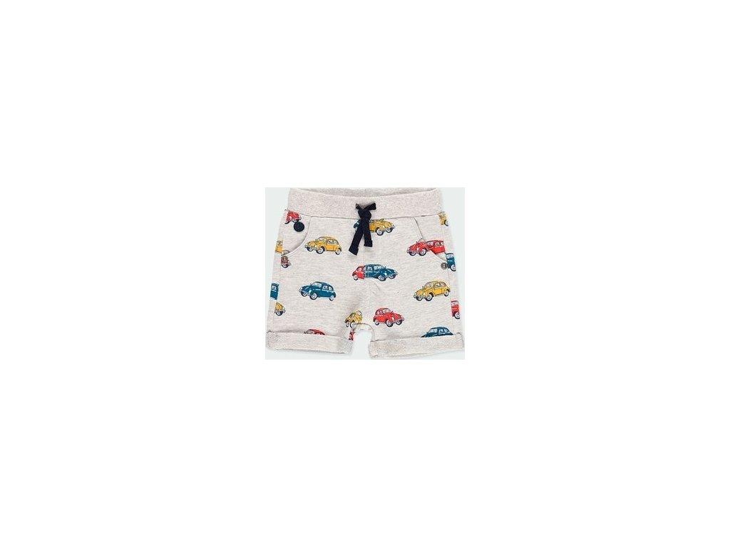 Chlapecké kraťasy s motivy autíček Boboli
